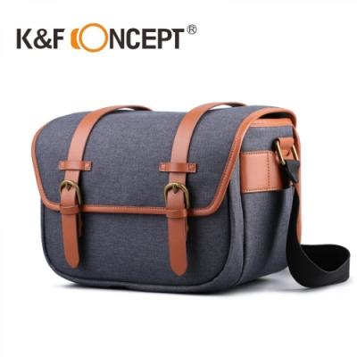 【K&F Concept】時尚者攝影側背包 1機2鏡(KF13.093)