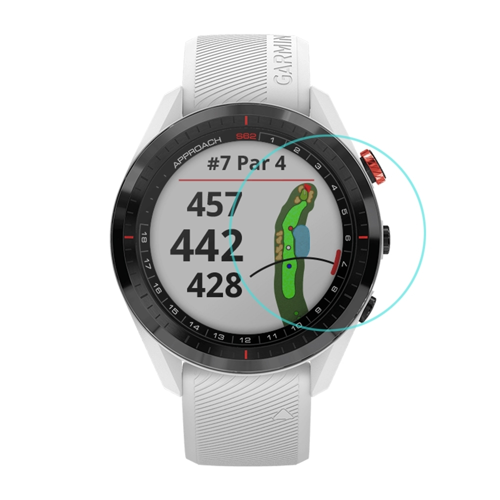 Qii GARMIN Approach S62 玻璃貼 (兩片裝)