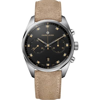 Favre-Leuba域峰表Chief系列Sky Chief Chronograph腕錶(00.10202.08.10.48)-43mm