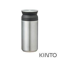 日本KINTO 隨行保溫瓶500ml-不銹鋼色