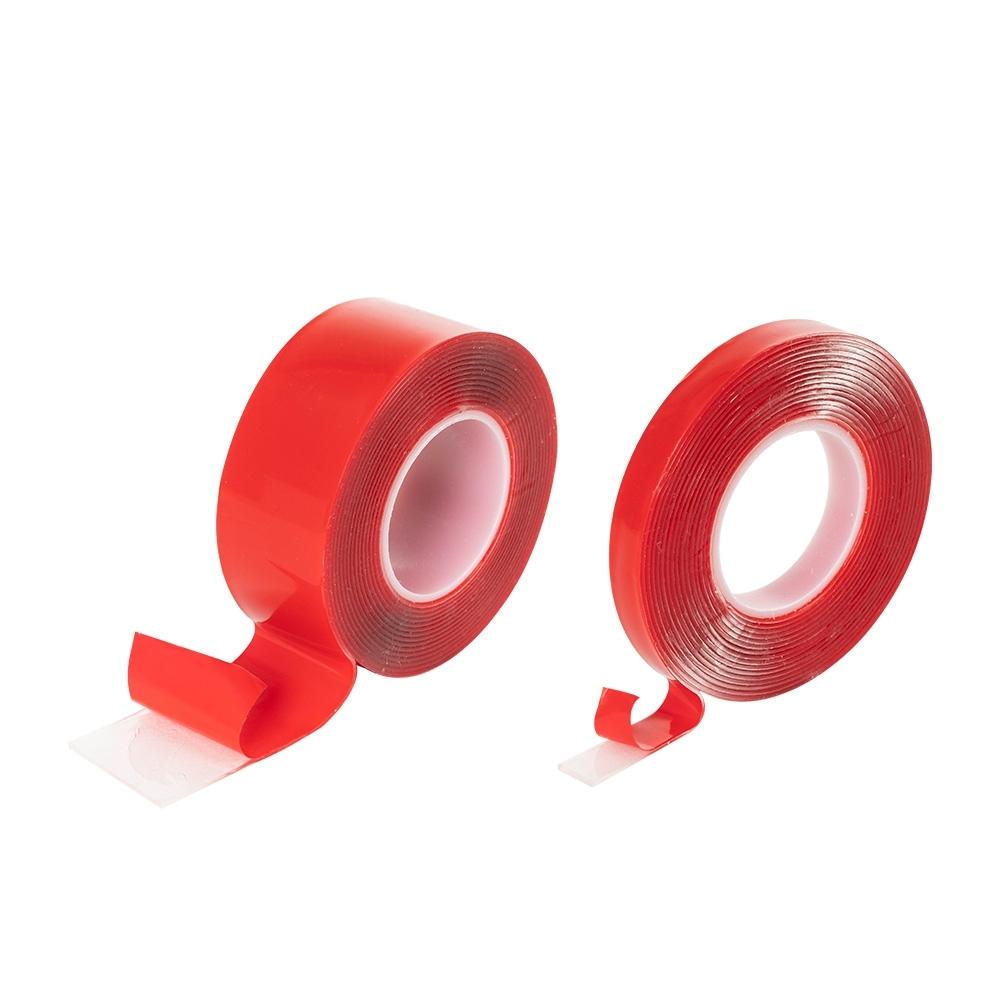 樂嫚妮 (2入)多用途無痕雙面膠條-寬1cm+寬3cm