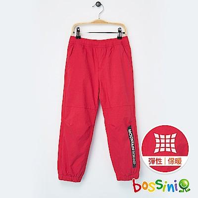 bossini童裝-彈性輕便保暖褲(內刷毛)02桃紅