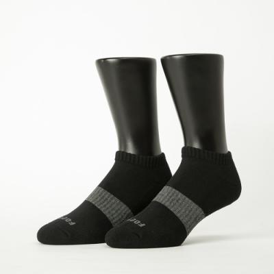 Footer除臭襪-時光秘徑運動船短襪-六雙入(黑*2+藍*2+白*2)