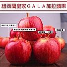 買1送1【天天果園】紐西蘭GALA蘋果2.5kg(約10顆) 共2箱