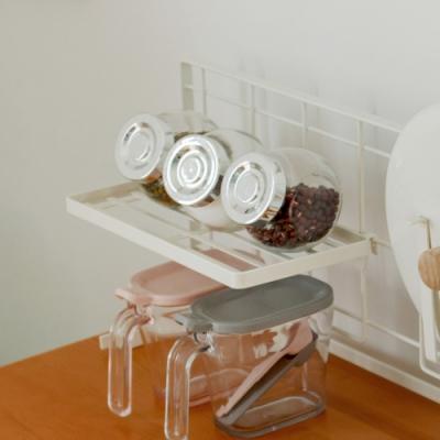 Home Feeling 廚房網架專用-置物架/瓶罐架-24.5x12.5