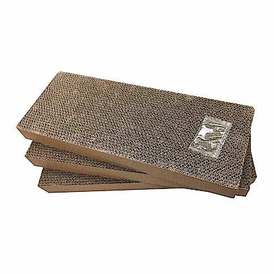 MDOBI摩多比-貓丸家 瓦楞紙 貓抓板-三角紙盒補充件(3個/包)