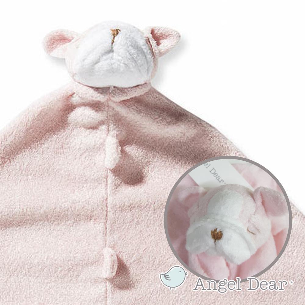 美國 Angel Dear 動物嬰兒安撫巾禮盒版 (鬥牛犬系列)