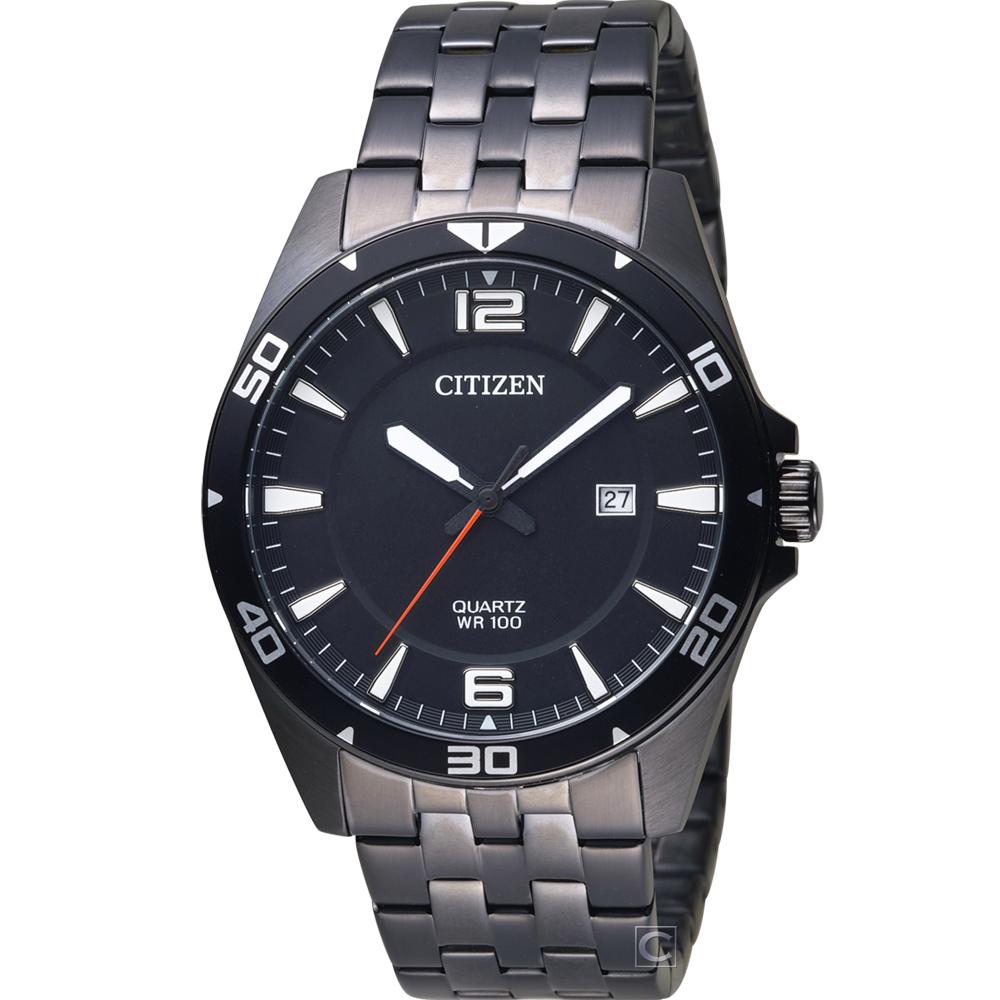 CITIZEN 星辰 炫酷時尚腕錶(BI5055-51E)43mm