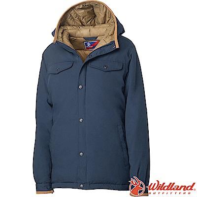 Wildland 荒野 0A62993-99深霧灰 女鵝絨防潑水極暖外套
