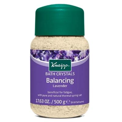 Kneipp克奈圃 薰衣草精油原始鹽泉浴鹽4瓶組(500g/罐)
