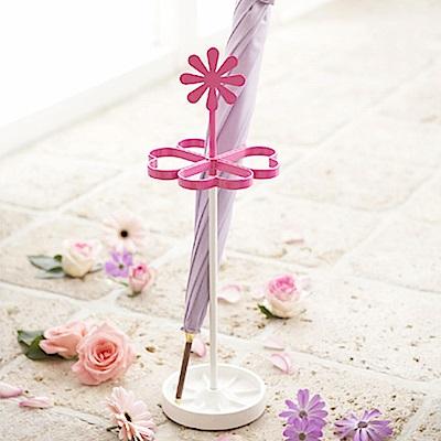 日本 YAMAZAK-甜蜜小雛菊造型雨傘架★玄關/雨傘架