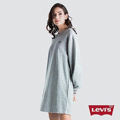 Levis 女款 Oversize 大學T洋裝