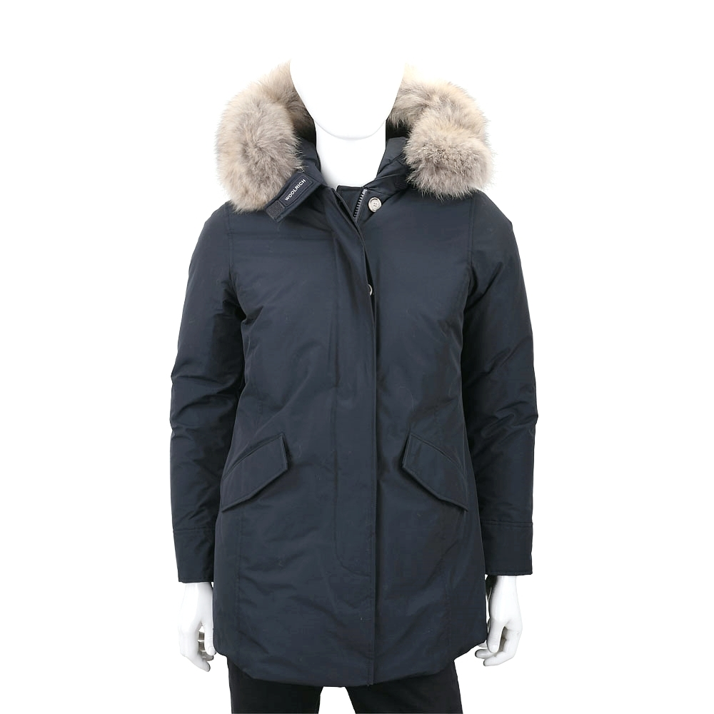 Woolrich Arctic Parka 抗寒耐低溫可拆毛領深藍色連帽羽絨外套(男/女可用)