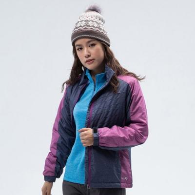 PolarStar 女 鋪棉保暖外套『藍紫』 P18216
