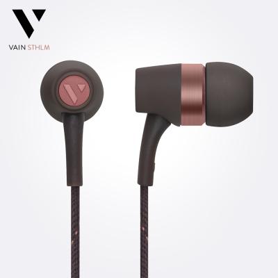 Vain STHLM 汎思 - Originals 初衷 入耳式線控耳機(大地棕)