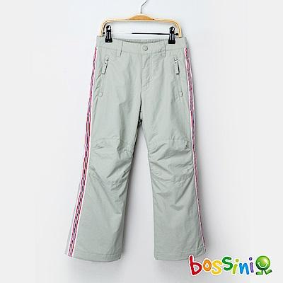 bossini女童-高效熱能雪褲淺灰