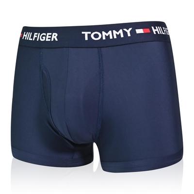 Tommy Hilfiger Everyday Microfiber 男內褲 莫代爾纖維絲質 合身平口褲/Tommy四角褲-海軍藍