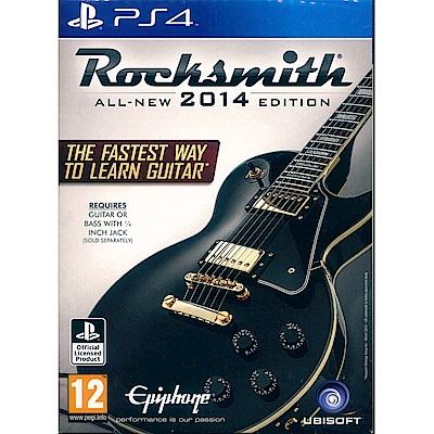 搖滾史密斯 2014 重製版(附音源線) Rocksmith 2014- PS4 英文歐版
