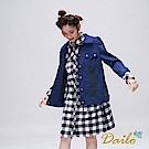 Dailo INLook 小鳥口袋造型夾克(藍色)