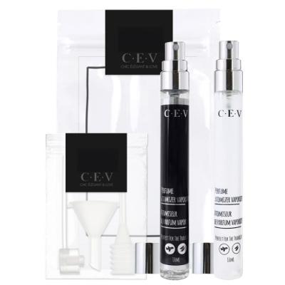CEV萬用噴霧玻璃分裝瓶(黑白款) 10mlx2