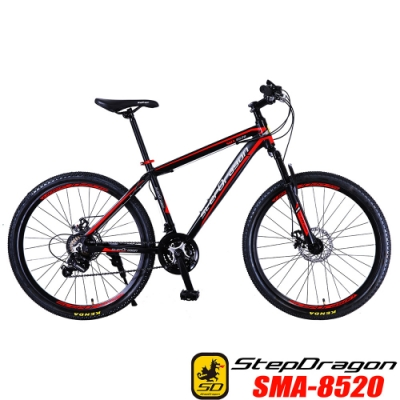 【StepDragon】SMA-8520 21速鋁合金碟煞登山車-DIY組裝