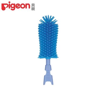 日本《Pigeon 貝親》矽膠奶瓶刷頭