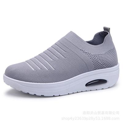 韓國KW美鞋館-悠活城市透氣休閒鞋-灰色