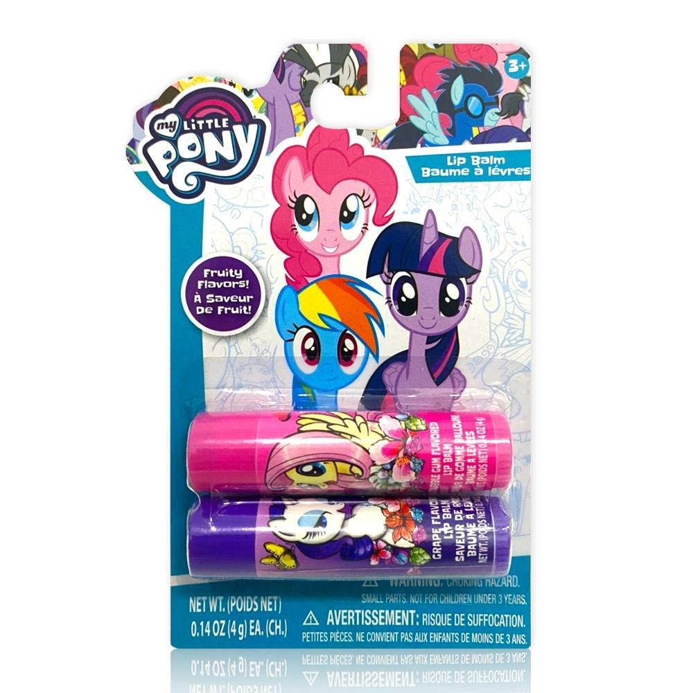 美國熱銷卡通 My Little Pony 護唇膏-2入