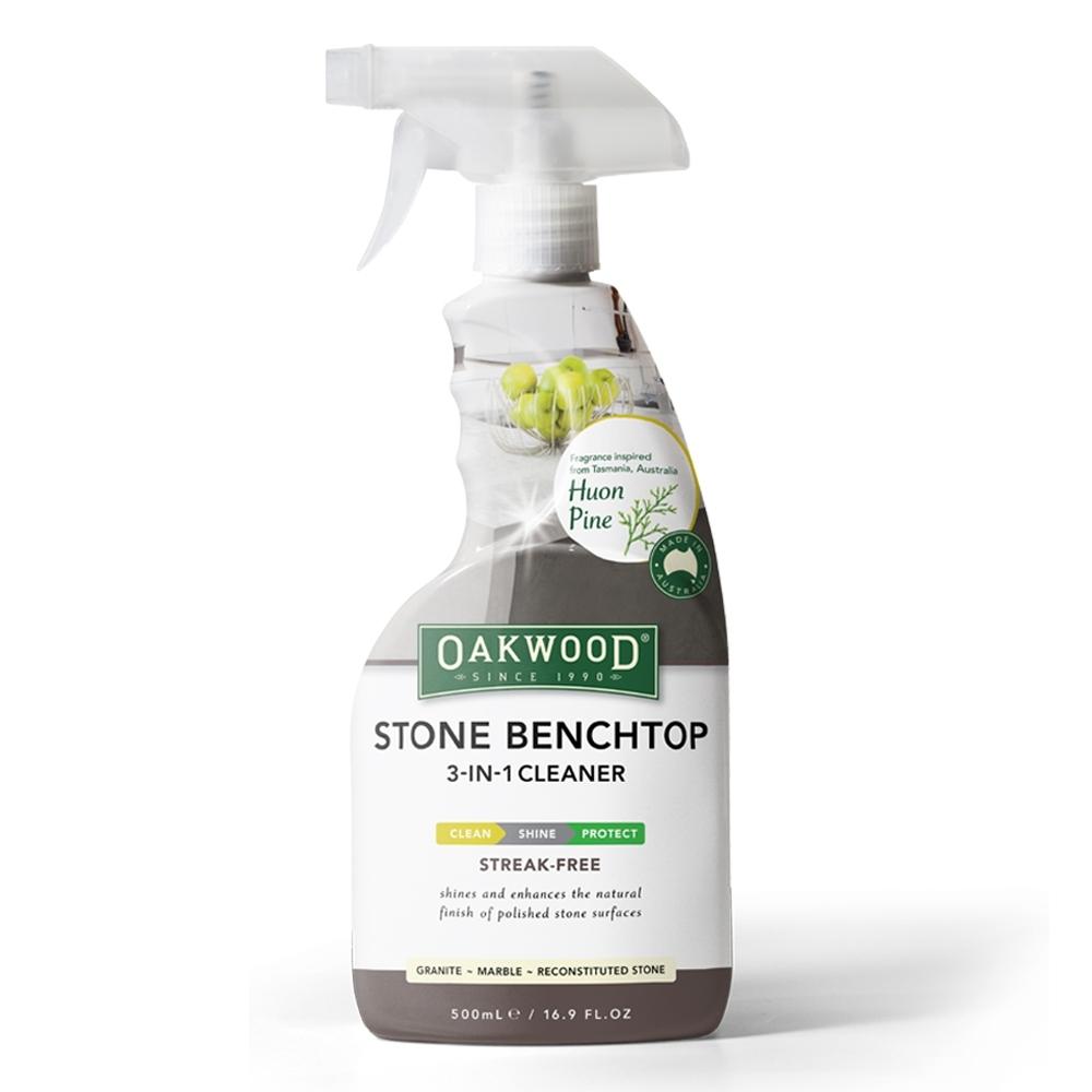 【OAKWOOD】三合一石材清護理液(家用石材表面清潔、護理和拋光)