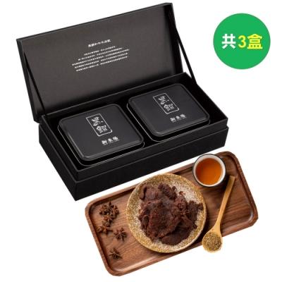 新東陽-春節禮盒 黑饌和牛肉乾禮盒1號(共3盒)