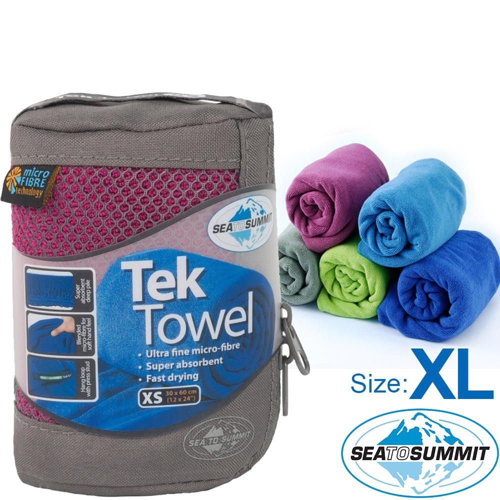 Sea to Summit 舒適快乾毛巾_XL(多色) Tek Towel旅行澡巾