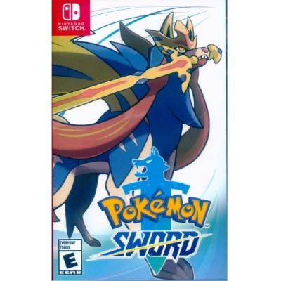 寶可夢 劍 Pokemon Sword - NS Switch 中英日文美版