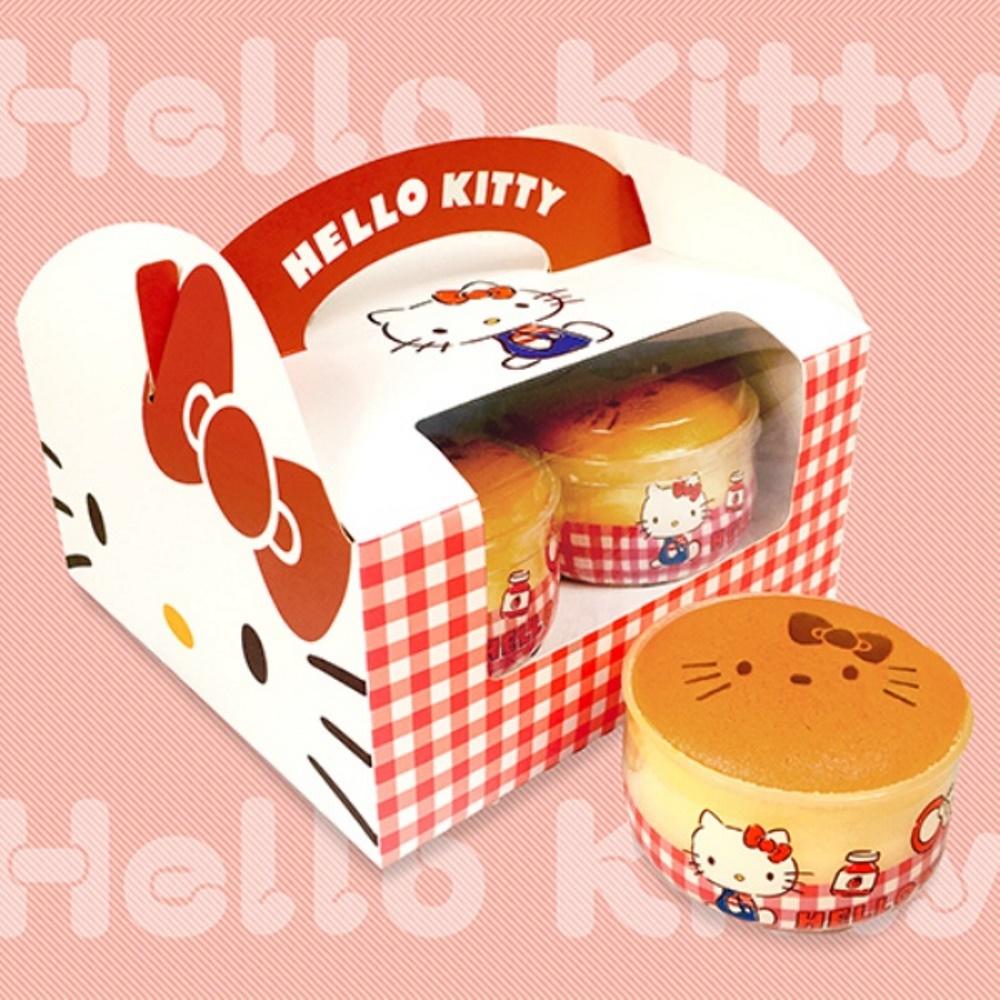 AMANDIER雅蒙蒂法式甜點 HELLO KITTY牛奶布丁燒(4入)