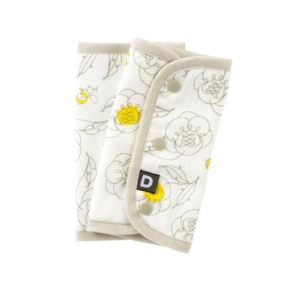 D BY DADWAY_揹帶用口水巾 / 蜂蜜小花