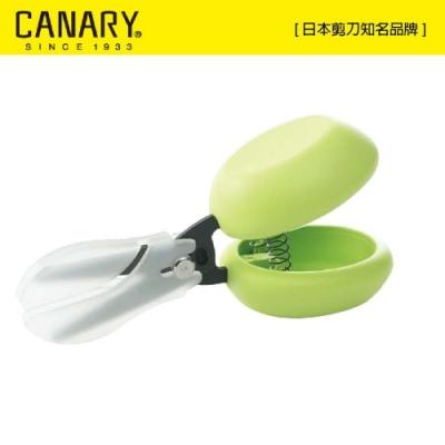 【日本CANARY】HARAC系列-Casta安心剪刀-黑刃不粘膠-綠