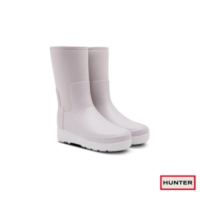 HUNTER - 女鞋 - Refined Creeper平底短靴 - 灰