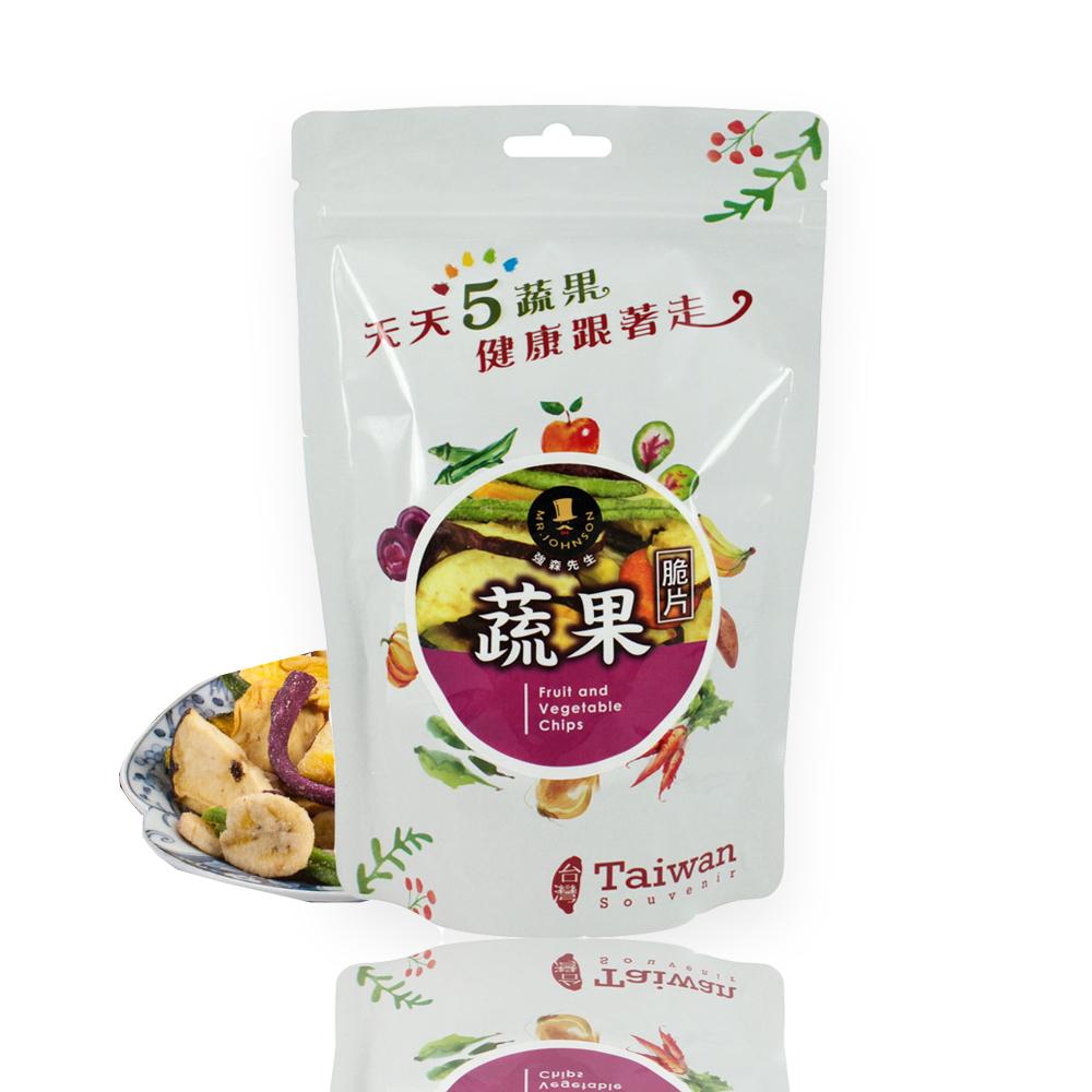 強森先生 綜合蔬果脆片(純素)(100g)