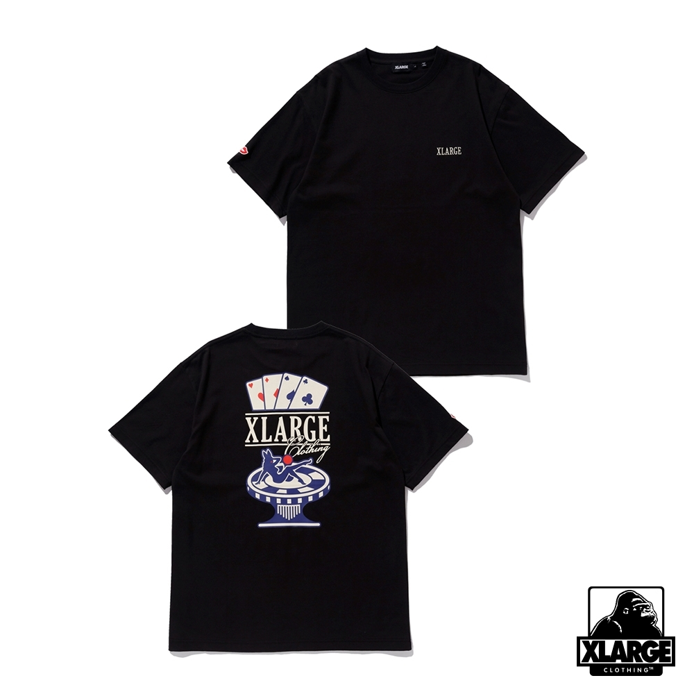 XLARGE S/S TEE CASINO 賭場短T-黑