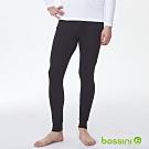 bossini男裝-遠紅外線保暖褲黑