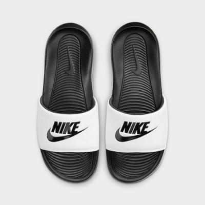 NIKE VICTORI ONE SLIDE 男女拖鞋-白黑-CN9675005