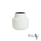 【Meric Garden】日式創意啞光釉陶瓷花瓶/花器_(莫蘭迪奶白S)