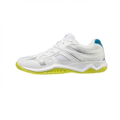 MIZUNO THUNDER BLADE  中 排球鞋 白-V1GA197005