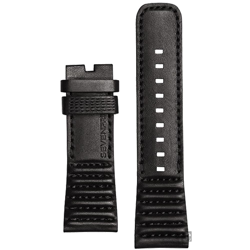 SEVENFRIDAY M2 原廠牛皮錶帶-黑