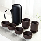 EZlife旅行便攜茶具組-紫砂款