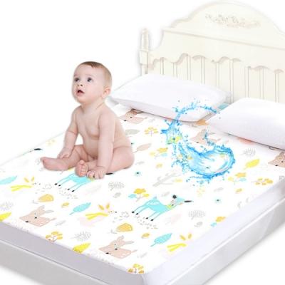 JiyNa防水隔尿墊床笠產褥墊看護墊保潔墊 單人床生理墊120X200