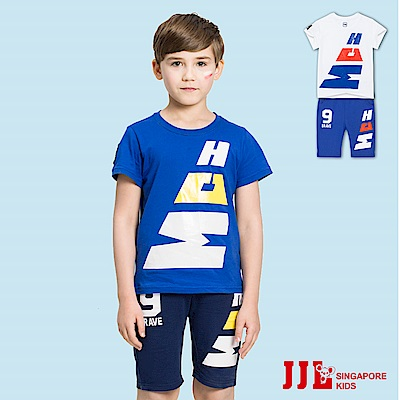 JJLKIDS 勇氣精神字母運動風套裝(2色)