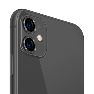 UNIQTOUGH iPhone11 航太鋁金屬框鏡頭保護鏡/六色