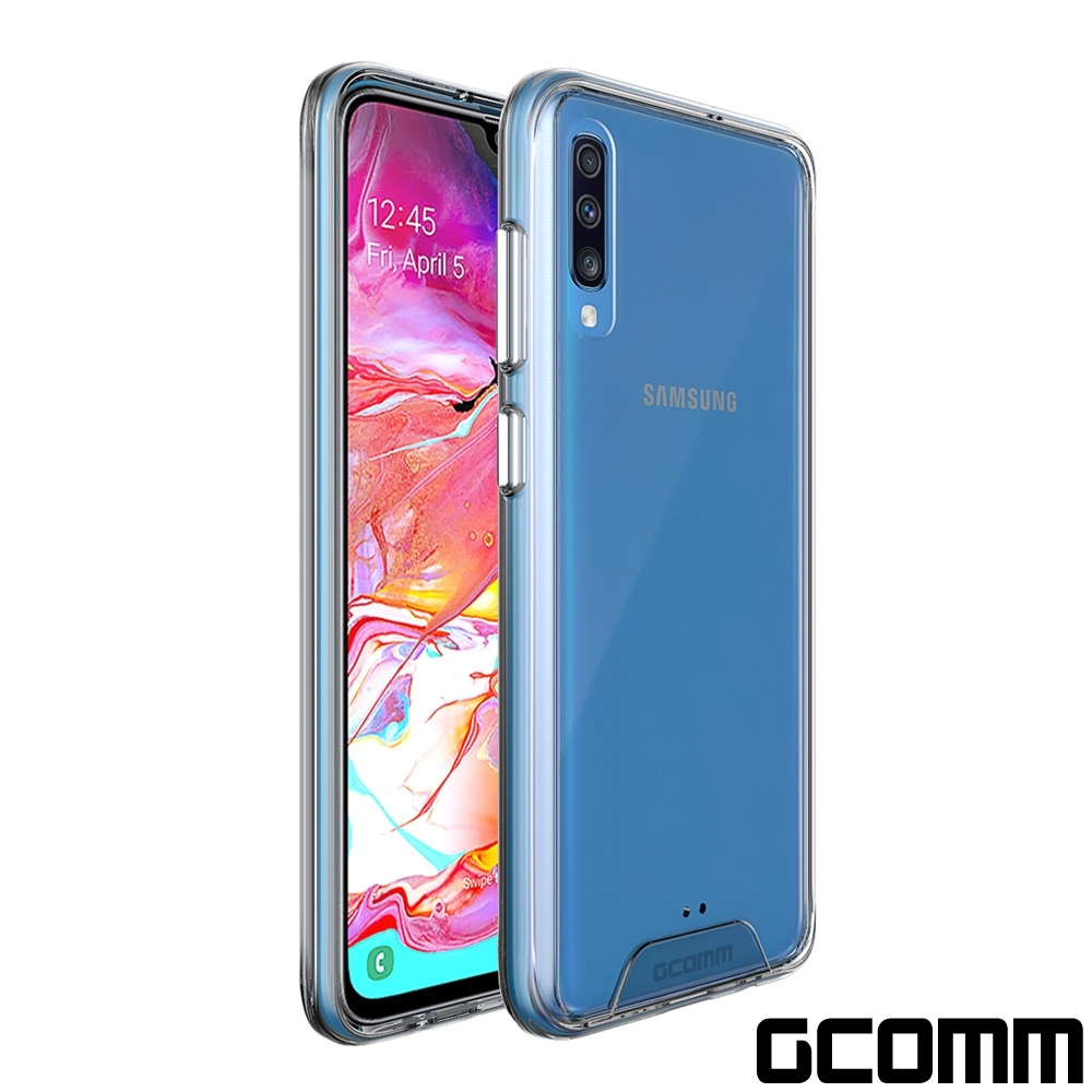 GCOMM Galaxy A70 晶透軍規防摔殼 Crystal Fusion