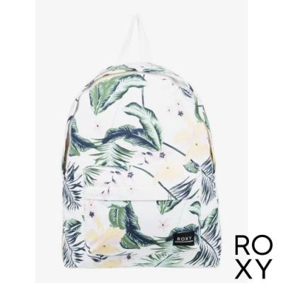 【ROXY】SUGAR BABY CANVAS 後背包 白色