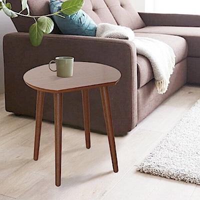 Home Feeling 簡約設計半圓茶几桌/邊桌/茶几桌-44x39.4x44.6